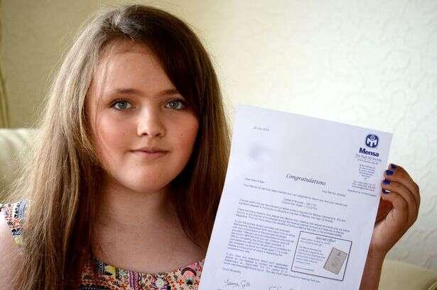 Menina de 12 anos é chamada de gênio após fazer mais pontos que Albert Einstein em teste de QI