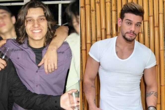 Cantores sertanejos antes e depois da fama