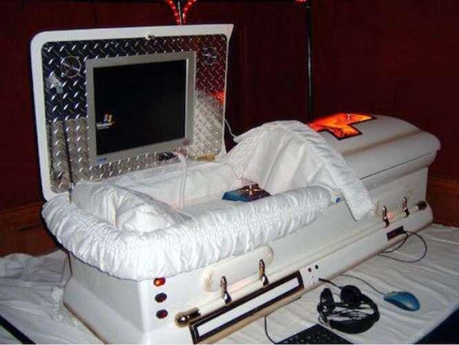 Os caixões mais bizarros do mundo