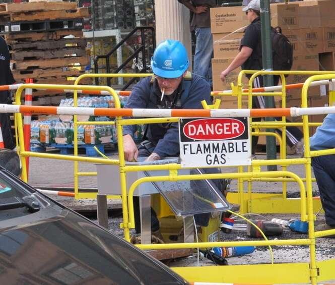 Trabalhadores que precisam fazer um curso de segurança no trabalho
