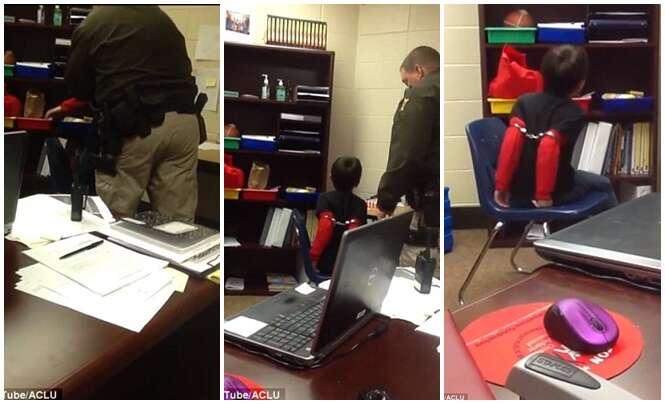 Xerife algema crianças deficientes por mal comportamento