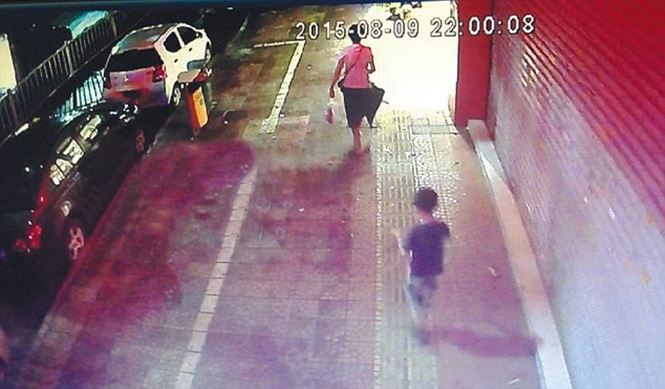 VID: Boy Watches As Ad Board Kills Mum