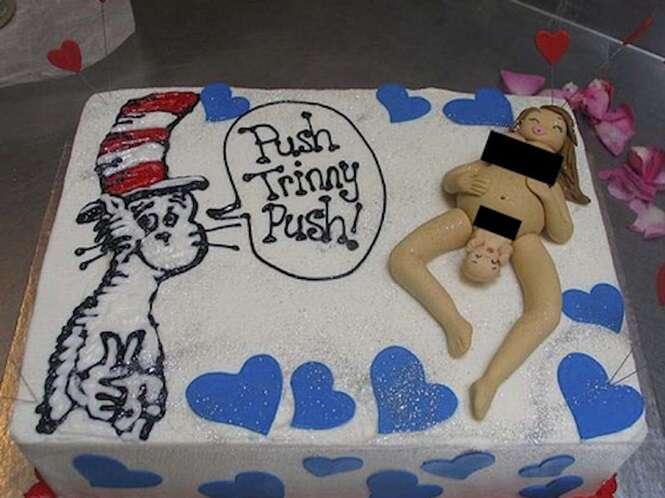Os bolos mais bizarros para comemorar a chegada de um bebê