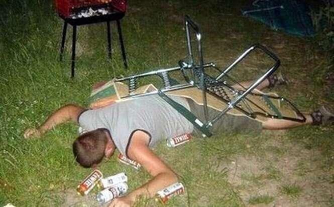 As mais engraçadas fotos de pessoas bêbadas