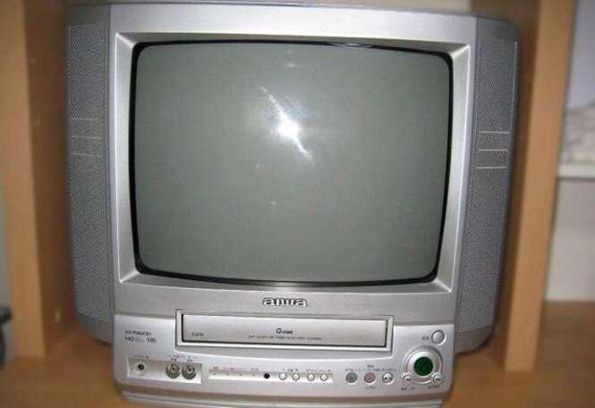 VCR TV  Source: aiwa