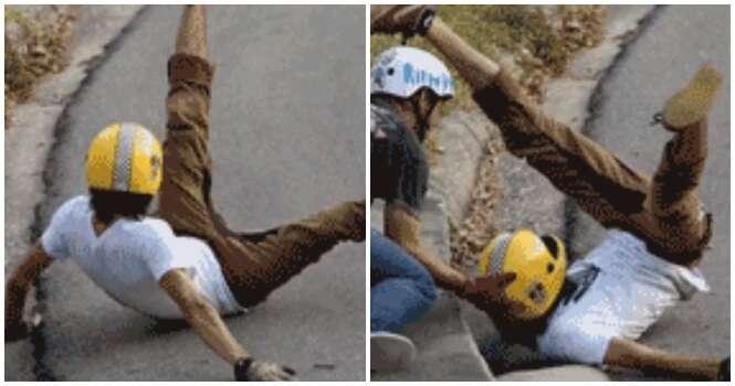 Imagens de acidentes que poderiam ter sido ainda mais desastrosos