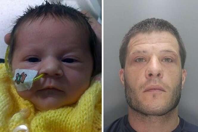 Pai pega 7 anos de prisão após matar filha recém-nascida ao sacudi-la
