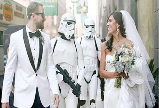 Fotos de casamento nada convencionais