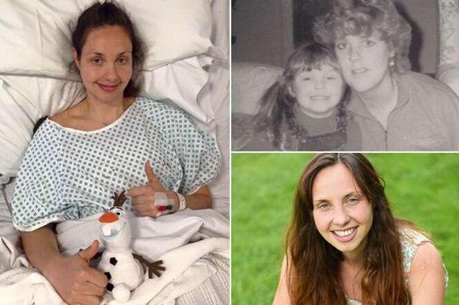 Mulher de 26 anos que perdeu mãe e tia para câncer de mama retira as duas mamas para não ter o mesmo destino