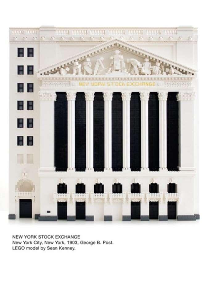 Edifícios conhecidos recriados com peças de Lego