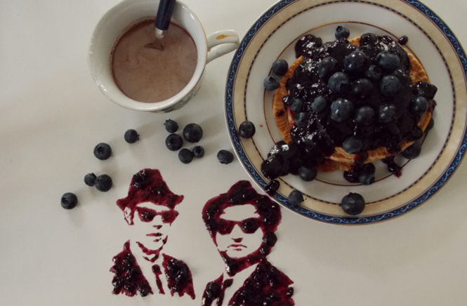 Artista transforma comida em celebridades e personagens famosos