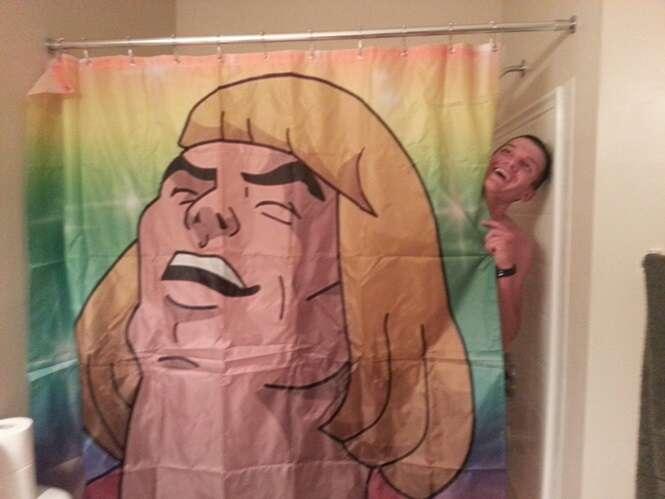 As mais criativas cortinas de chuveiro