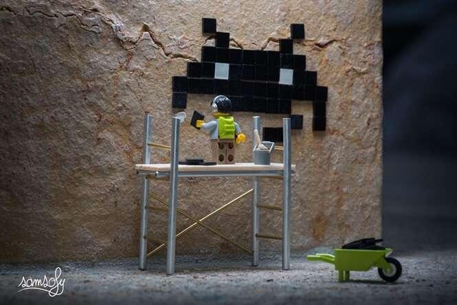Fotógrafo cria trabalho curioso envolvendo bonecos de Lego