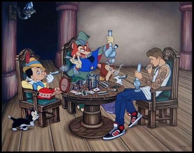 25 imagens obscuras que você nunca vai ver nos desenhos da Disney
