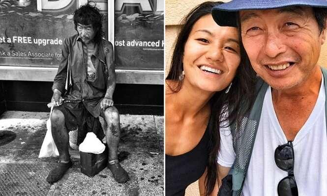 Fotógrafa passa 10 anos capturando vida de moradores de rua e encontra seu pai