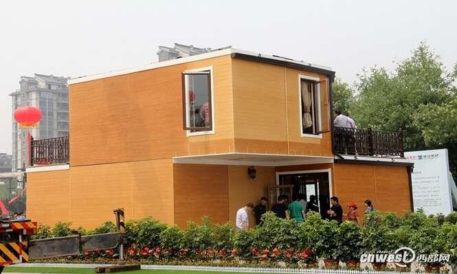 Empresa constrói casa em apenas 10 dias