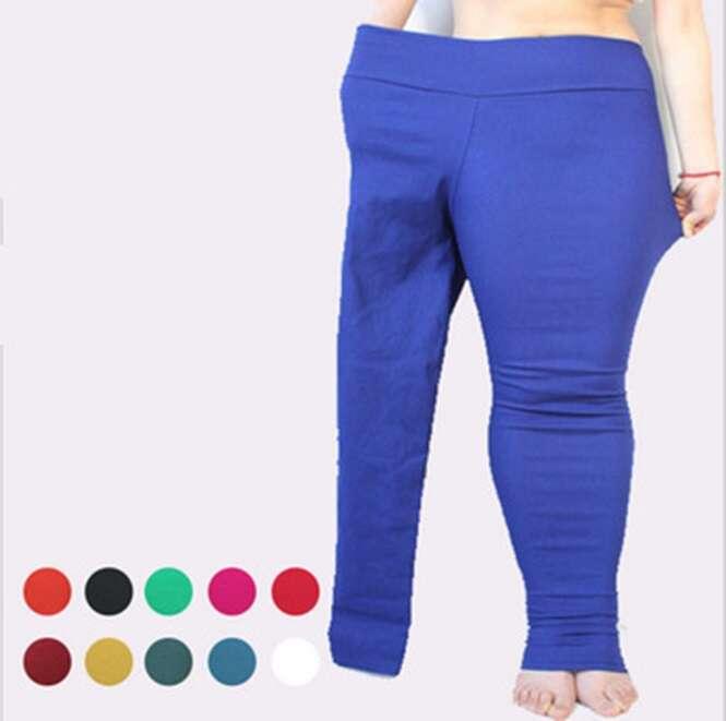 Loja causa polêmica ao usar modelo magra com as duas pernas dentro de local de calça feito para um só membro