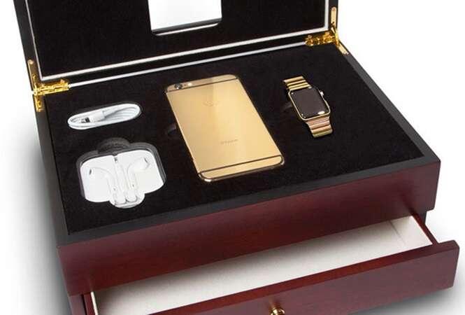 Empresa libera pré-encomenda de iPhone 6S em ouro e diamante