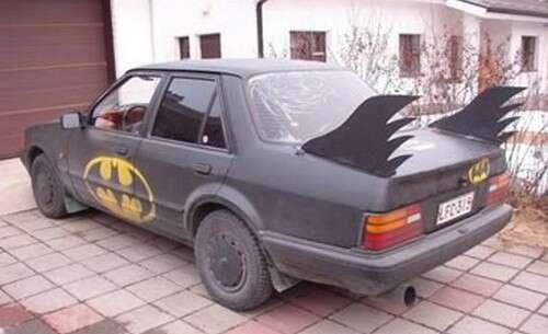 Exagerados modelos de carro tuning