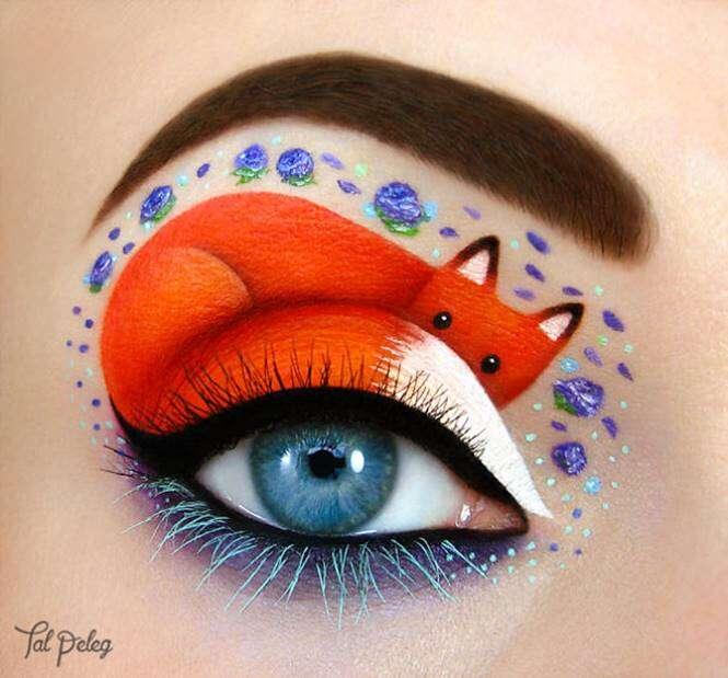 Arte com maquiagem