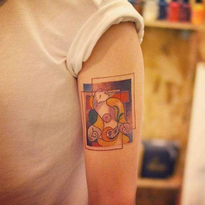 Tatuagem de Picasso