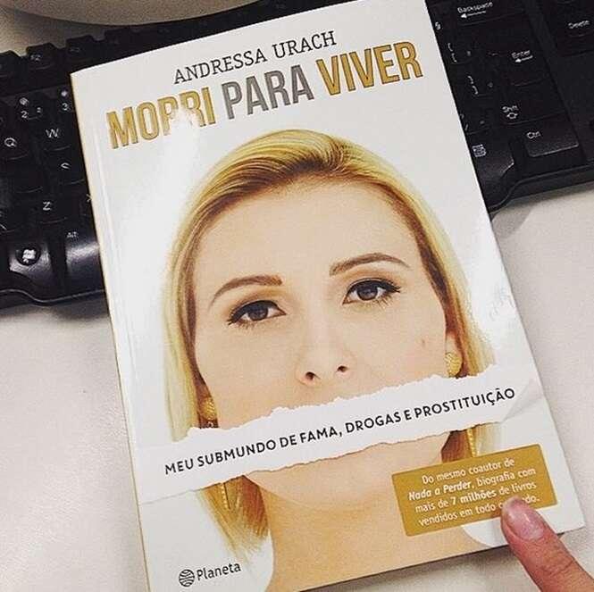Veja 13 revelações surpreendentes de Andressa Urach em sua autobiografia