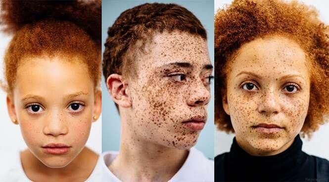 Fotógrafa comprova que pessoas ruivas são realmente belas