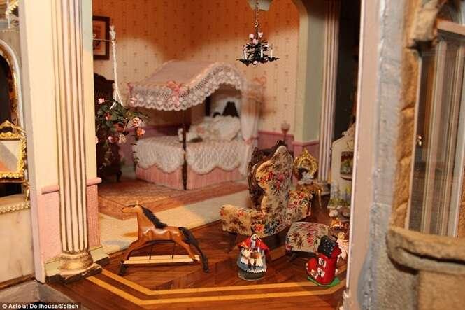 Conheça o mini castelo de bonecas mais valioso do mundo