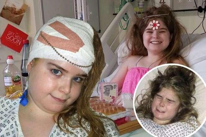 Menina sente fortes dores de cabeça e descobre AVC