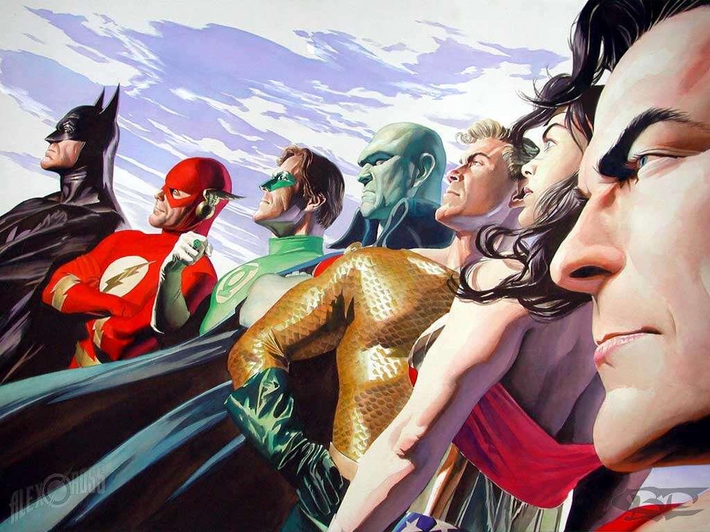 Imagens demonstrando que existem super-heróis entre nós