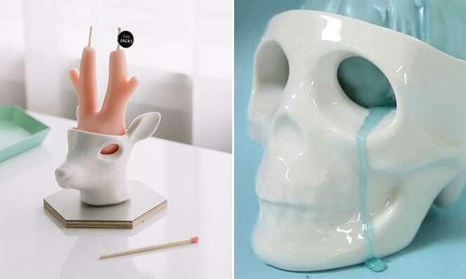 Designers fabricam velas que choram quando começam a derreter