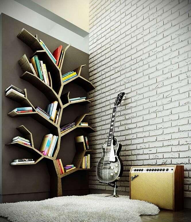 As mais criativas estantes de livros do mundo