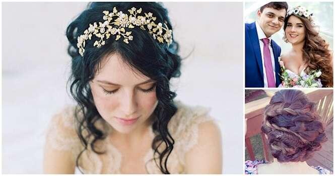 Penteados românticos ideais para as noivas