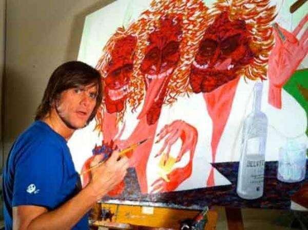 Celebridades que poderiam ser pintores de sucesso