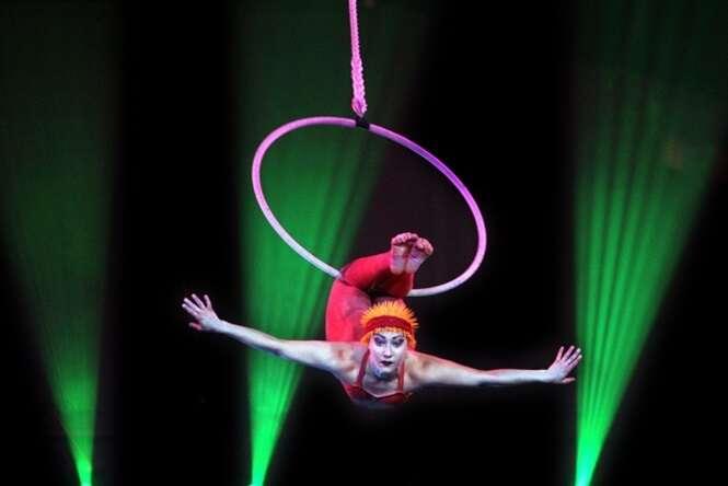Os mais perigosos truques de circo exibidos atualmente