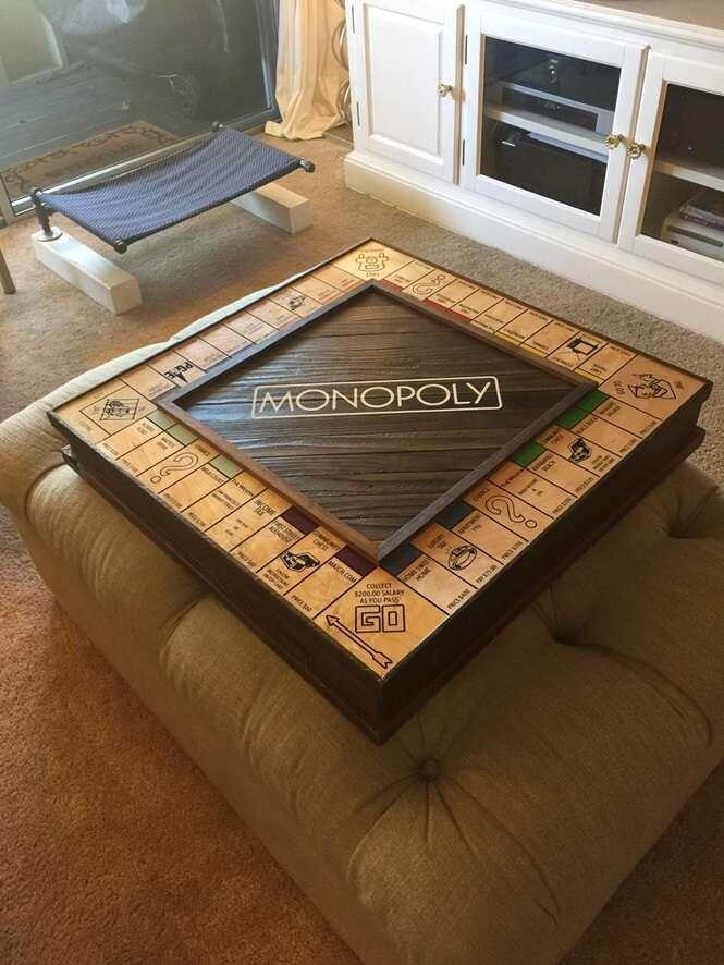 Homem pede noiva em casamento ao criar o mais luxuoso tabuleiro de Monopoly do mundo