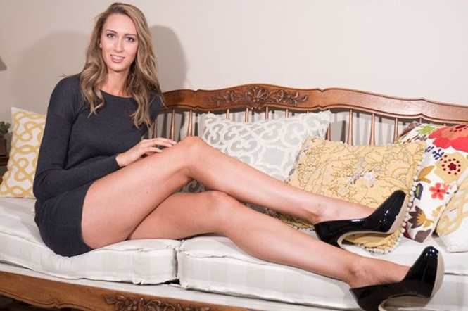 Conheça a modelo com as pernas mais longas do mundo