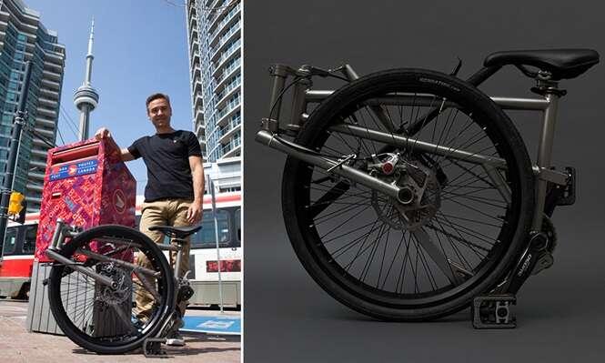 Conheça a mais confortável bicicleta dobrável do mundo