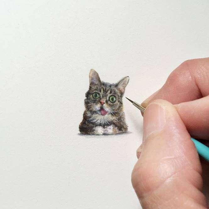 Pintura em miniatura