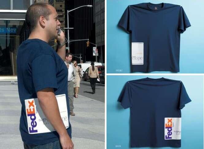 Camisas mais criativas do mundo