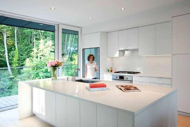 Cozinhas demonstrando que o branco é a melhor opção para esse ambiente