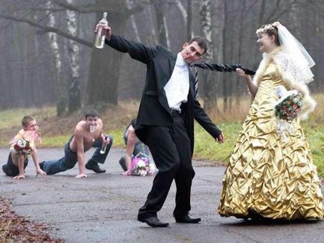 Fotos dos casamentos mais estranhos do mundo