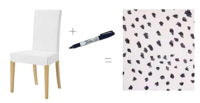 Formas de dar vida nova a produtos usando um marcador permanente