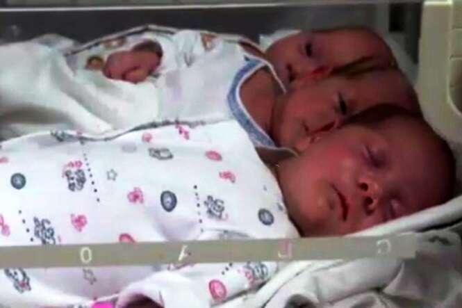 Mãe abandona trigêmeos no hospital após dar à luz