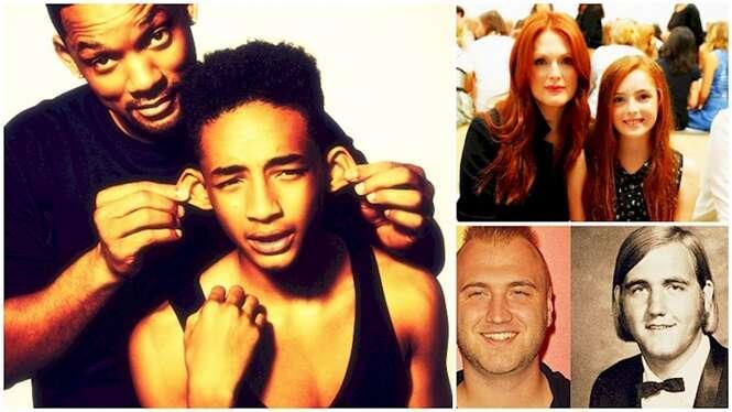 Filhos de celebridades que são a cara de seus pais