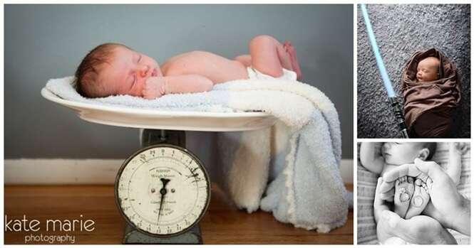 Fotos de recém-nascidos que vão deixar seu dia mais feliz