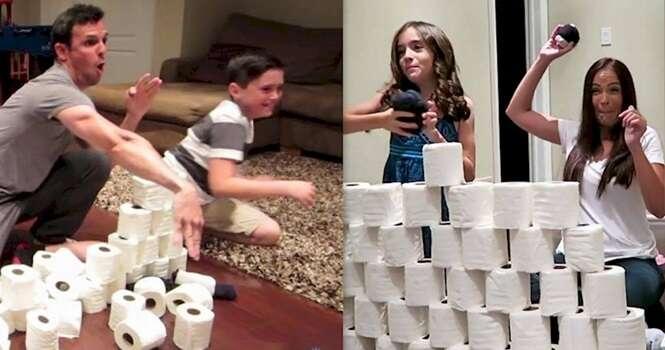 Brincadeiras divertidas para os pais fazerem com os filhos