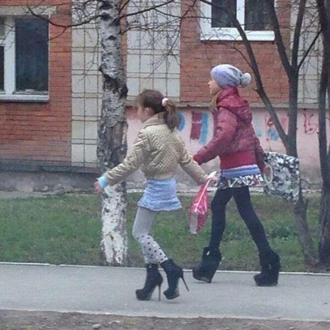 Imagens malucas que só se vê na Rússia