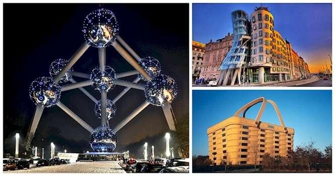 Os prédios mais estranhos do mundo