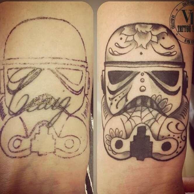 Encobrimentos de tatuagens que ficaram melhor que as originais